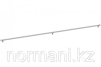 Ручка-скоба 1074мм, отделка никель глянец шлифованный