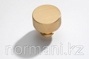 Ручка-кнопка, отделка золото шлифованное