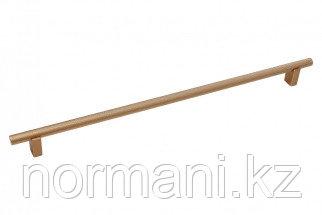 Мебельная ручка скоба, замак, размер посадки 320мм, отделка золото матовое