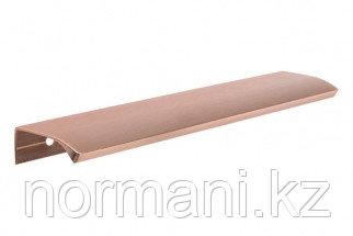 Ручка-профиль накладная L.200мм, отделка медь шлифованная