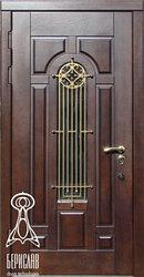 Дверь Русь со стеклом.