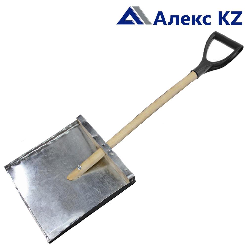 Лопата снеговая (жестян с V образной ручкой)