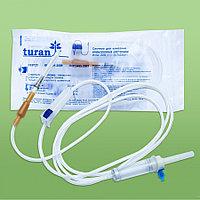 """Cистемы для внутривенного вливания инфузионных растворов Turan"""" с иглами 22 G"""