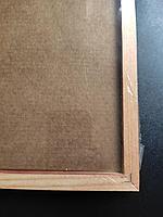 """Рамка деревянная для фотографий, дипломов, грамот """"Brauberg Hit"""", 21x30см, тёмная вишня, фото 5"""