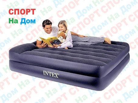 Надувная кровать Intex 66702/64124 (Габариты: 203 х 152 х 42 см) с насосом, фото 2