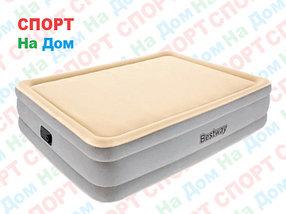 Высокая надувная кровать Bestwey 67486 (размеры: 203 х 152 х 46 см)