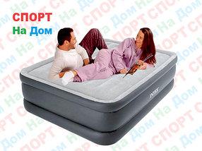 Высокая надувная кровать Intex 64140 ( размеры: 203 х 152 х 51 см )