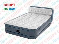 Высокая надувная кровать Intex 64448 ( размеры: 236 х 152 х 46 см )