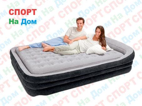 Надувная кровать Intex 66974 ( размеры: 241 х 180 х 56 см ), фото 2