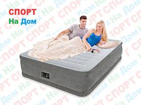 Надувная кровать Intex 64418 (Габариты: 203 х 152 х 56 см) со встроенным насосом