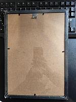 "Рамка пластиковая для фотографий, дипломов, грамот ""Brauberg Hit"", 21x30см, ореховое дерево, фото 4"