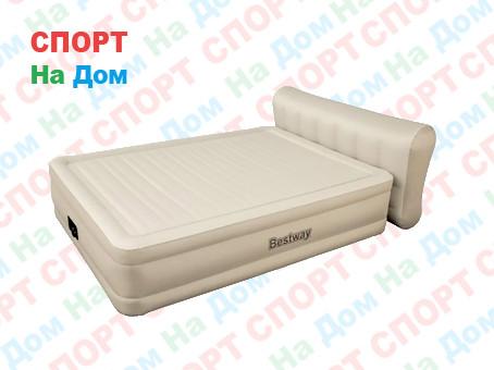 Кровать Bestwey 69019 со спинкой (Габариты: 203 х 152 х 79-43 см) со встроенным насосом