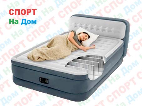 Кровать Bestwey 64448 со спинкой (Габариты: 236 х 152 х 86-46 см) со встроенным насосом