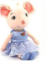 """Мягкая игрушка """"Мышка в платье"""" 35 см"""