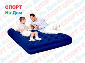 Надувной матрас Bestway 67002 Синий (Габариты: 191 х 137 х 22 см)