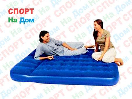 Надувной матрас Bestway 67226 (размеры: 203 х 152 х 22 см) с встроенным насосом, фото 2