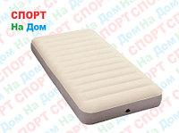 Надувной матрас Intex 64701 Белый (Габариты: 99 х 191 х 25 см)