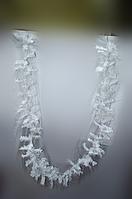 Белая хвойная гирлянда 280 см