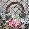 Новогодние венки украшение - премиум №8 (55 см)