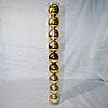 Набор новогодних шаров на ёлку - 9 шт (6,5 см)