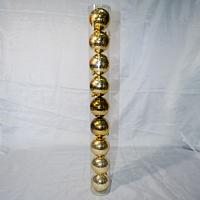 Набор новогодних шаров на ёлку - 9 шт (6,5 см), фото 1