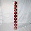 Набор новогодних шаров на ёлку - 9 шт (8 см)