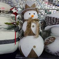 """Премиум новогодняя игрушка """"Снеговик"""" - 53 см"""