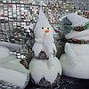 """Премиум новогодняя игрушка """"Снеговик"""" - 60 см"""
