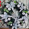 Новогодние венки украшение - премиум №6 (O 65 см)