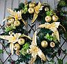 Новогодние венки украшение - премиум №9 (O 65 см)