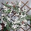 Новогодние венки украшение - премиум №7 (O 35 см)