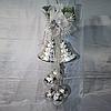 Новогодние украшение 70 см (шары 10 см, колокола 15 см)