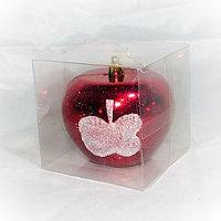 """Игрушка на новогоднюю ёлку """"Яблоко"""" - 1 шт (6 см)"""