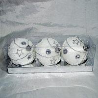 Набор новогодних ёлочных игрушек - 3 шт, фото 1