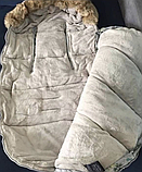 """Универсальный зимний конверт-мешок (чехол) """"Dearest"""" в коляску, фото 2"""