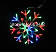 "Светодиодная фигура ""Снежинка"" RGB 40х40 см"