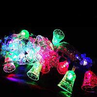 Светодиодная гирлянда LED (колокольчик) RGB, 2 м