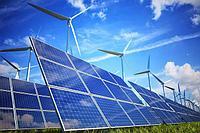 Солнечные и ветряные электрост...
