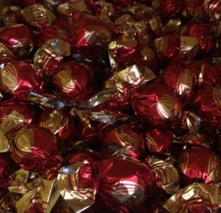 Шоколадные конфеты creme (красные) 1кг