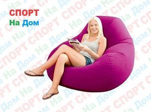Надувное кресло Intex 68584 (Бордовый), фото 2