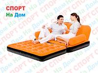 Надувной диван - кровать Bestwey 67356 Оранжевый