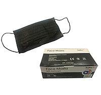 Трехслойные маски черные ECO PRO (50 шт.)