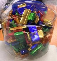 """Молочный шоколад """"Подарочки"""" разноцветные (25шт упак)"""