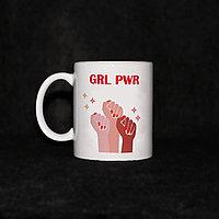 Кружка «GRL PWR»