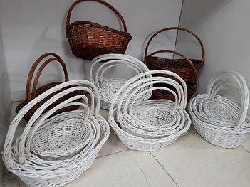 Подарочные плетенные корзины
