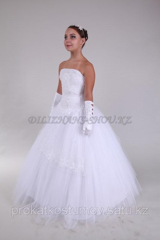 Бальные платья для девочек в аренду