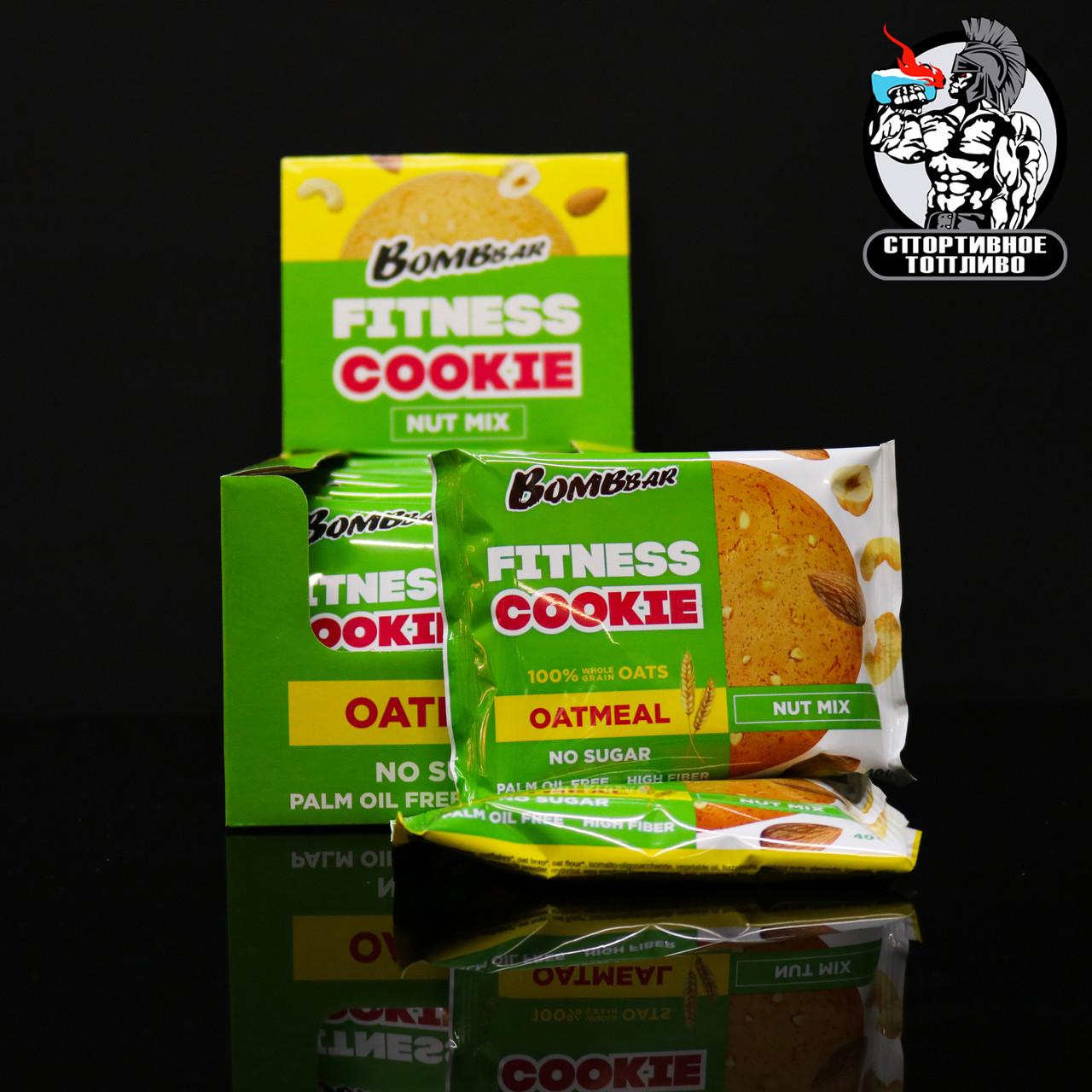 BombBar - Овсяное печенье 1шт/40гр