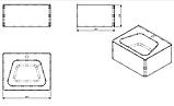 Антивандальная раковина 1НСт-2, фото 2