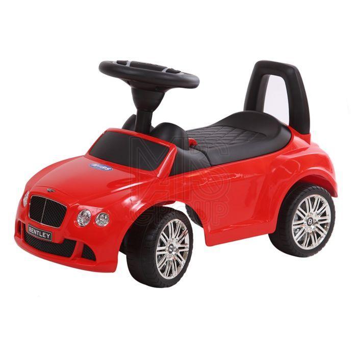 Машина-каталка Chilok Bo Toys Машинка Бентли крашенный красный