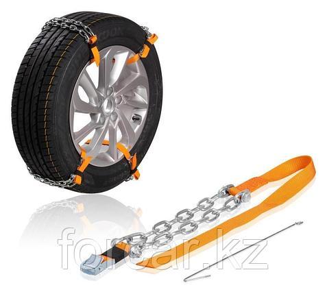 Цепи (браслеты) противоскольжения для кросс-ов (колёса 205-225 мм), к-т 4 шт., фото 2